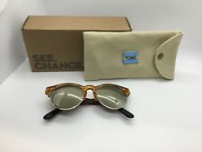 New Toms Sunglasses Amber Ale Charlie Rae tan with black.       r1