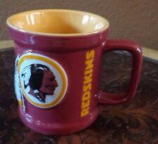 NFL Football Washington REDSKINS Ceramic Coffee Mug Cup Embossed New
