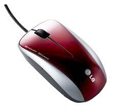 Lg lsm-150 laser -/escáner ratón con reconocimiento de texto para PC & Mac rojo