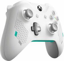 Genuine Microsoft Xbox One Bluetooth Wireless Controller Sport White Edition VG
