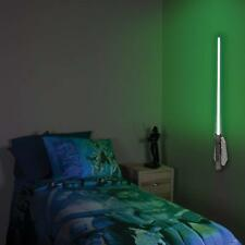 Star Wars Luke Skywalker Lightsaber Night Light NightLight Lamp Room Wall Green
