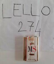 Pacchetto MS MORBIDE da 10 sigarette ancora sigillato, da collezione
