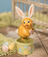 Easter  Bethany Lowe  Spring Sunny Chick On Box AUTHORIZED DEALER FREE SHIPPING