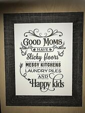 Mother's Day, birthday gift for your mum - Good mums quote