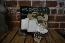 Vintage Motiv Figure Ice Skates White Size 9