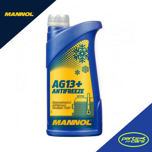 MANNOL Antifreeze Type G13+ Anti-freeze Advanced Yellow Concentrate (1-20 Litre)