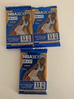 *** NBA HOOPS 2016/17 Lot de 3 paquets basketball NBA  33 cartes ***
