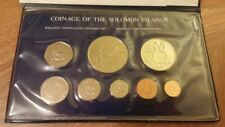 SOLOMON ISLANDS 1979 BU Specimen Set KM MS2 8 coins Br + CuNi FM Issued 677 ONLY