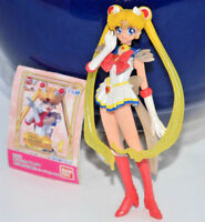 EUC Super Sailor Moon gashapon figure figurine Bandai Japan