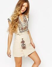 Free People RUNNING WILD EMBROIDERED DRESS SIZE XS $168