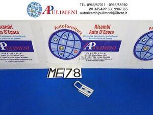 PIASTRINA FISSA ARRESTO GANCIO BAULE POSTERIORE FIAT 1100 R 128 AUTOBIANCHI A111