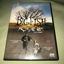 Big Fish Dvd Ewan McGregor Tim Burton Import Movie