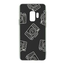 For Samsung Galaxy S9 Silicone Case Camera Photo Pattern - S4961