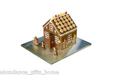 Christmas Chocolate or Gingerbread House Food Grade Silicone Mould - 2pc  *NEW*