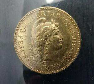 1888 Argentina Gold - 5 Pesos / 1 Argentino