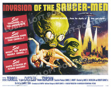 INVASION OF THE SAUCER MEN LOBBY CARD POSTER HS 1957