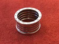 BVLGARI B.ZERO1 18ct White Gold Wide Band Ring
