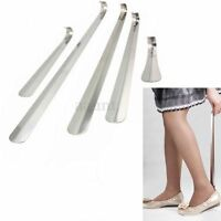 16/30/41/52/58CM Durable Stainless Steel Long Handle Shoe Horn Lifter Shoehorn