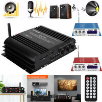 45W Mini Bluetooth Digital Stereo Audio Amplifier Car Home HiFi Music USB AMP