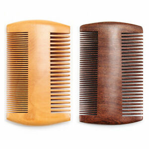 Luxury Sandalwood Pocket Anti-Static Wood Comb Beard Mustache Hair Brush Combs