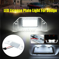 LED Side Number License Plate Light For Dodge Challenger Charger Avenge