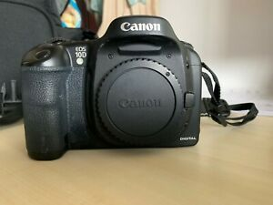 Canon  EOS 10D 6.3 MP Digital SLR Camera - Black (Body Only) WITH ACCESSORIES