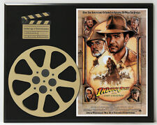 INDIANA JONES AND THE LAST CRUSADE LIMITED EDITION MOVIE REEL DISPLAY