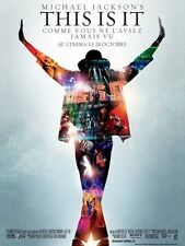 Affiche 4x3m MICHAEL JACKSON'S THIS IS IT 2009 film documentaire musical NEUVE