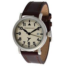 50 m (5 ATM) Armbanduhren im Flieger-Stil mit Datumsanzeige und Matte
