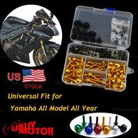 For Yamaha YZF R6 2008 2009 2010 2011 2012 2013 Complete Fairing Bolt Kit Screw