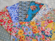 LIBERTY FABRIC - TANA LAWN REMNANT SALE- NEW LIST 3-CRAFT QUILTING - NEW DESIGNS