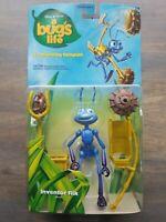 VTG 1998 Disney Pixar A Bugs Life Inventor Flik Figure Launching Catapult (A3)