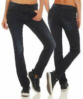 Timezone Damen Jeans 17-10046 Tahila Shape Straight Hose Pants Slim Stretch
