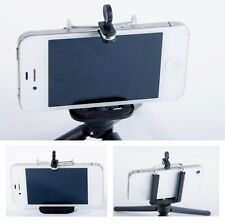 Smartphone Holder Vertical Bracket with 1/4 inch Tripod Mount Phone Photo Video