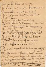 Raymond RADIGUET / Deux poèmes autographes signés.