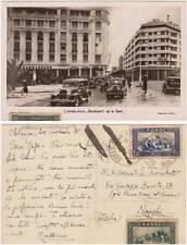 CASABLANCA - BOULEVARD DE LA GARE (MAROCCO) 1935