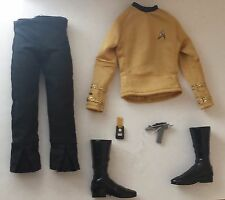 BARBIE STAR TREK 50th 2016 CAPTAIN KIRK Complete Outfit COLLECTOR KEN Fashion
