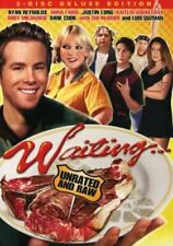 Waiting (DVD, 2005) Early Ryan Reynolds Anna Faris 2 Disc Collection Unrated RAW