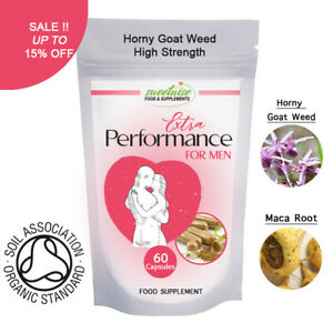 Horny Goat Weed Capsules & Maca Extract Capsules LIBIDO BOOSTER - Watch Video !!