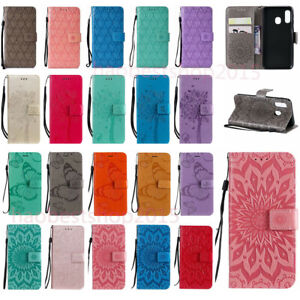 For Samsung Galaxy A12 A02S A32 A42 A52 Leather Wallet Holder Cover sink Case