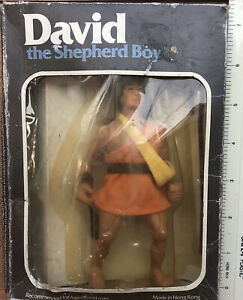 David The Shepherd Boy Figure Vintage 1984