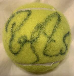 Roger Federer Autographed US Open 4 Ball