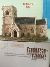 Decorative Collectible Lillyput Lane St Mary's