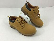 Men's Wrangler Work Boot Shoe 11 Suede Brown Nwot Memory Foam Casual