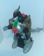"2015 Imaginext Power Rangers Mighty Morphin Green Ranger Dragonzord 16"""