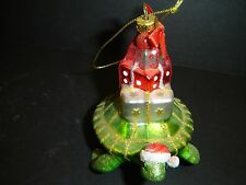 BRAND NEW SEA TURTLE CARRY GIFTS CHRISTMAS ORNAMENT BY KURT ADLER
