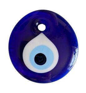 Handmade Turkish Evil Eye Nazar Home Wall Hanging Charm Blue Car Lucky Amulet