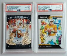 2019 Panini Prizm Draft White Sparkle Lot /15 Peyton Manning PSA 10 Gem Mint