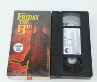 Friday The 13th VHS 2001 Jason Voorhees Recorded In SP Mode Horror