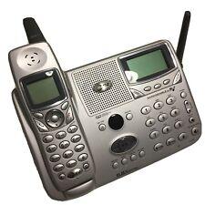 AT&T E5865 5.8 GHz DSS Cordless Phone Answering Machine Intercom Base & Handset